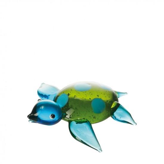Zeeschildpad 6 blauw/groen MAR