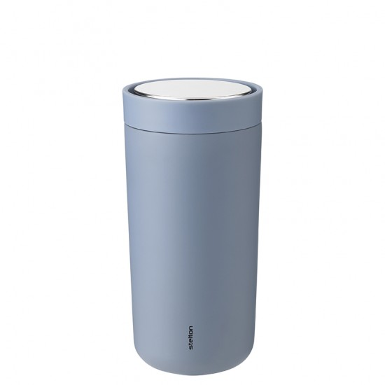 To-Go Click vacuum insulated cup. 0.4 l. - soft dusty blue